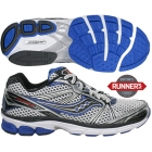 Saucony Men's ProGrid Guide 5 (Wht/ Sil/ Roy) - How To Choose Tennis Shoes