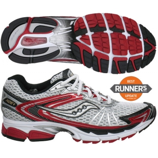 Saucony Men's ProGrid Ride 4 (Wht/ Red/ Blk)