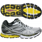 Saucony Men's ProGrid Triumph 8 (Wht/ Blk/ Ylw) - How To Choose Tennis Shoes