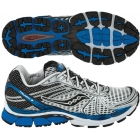 Saucony Men's ProGrid Triumph 8 (Wht/Roy/Blk) - How To Choose Tennis Shoes
