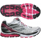 Saucony Women's ProGrid Triumph 8 (Wht/ Blk/ Pnk) - How To Choose Tennis Shoes