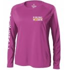 Pickleball Rocks Women's Long Sleeve Top (Pink) - Tennis Court Equipment