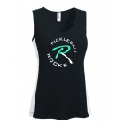 Pickleball Rocks Women's Tank Top (Teal Logo) - Pickleball Equipment