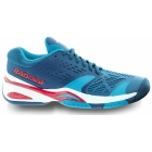 Babolat Men's SFX Tennis Shoes (Blue/ White/ Red) - Babolat Tennis Shoes