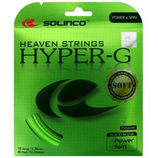 Solinco Hyper-G Soft 16g Tennis String (Set)