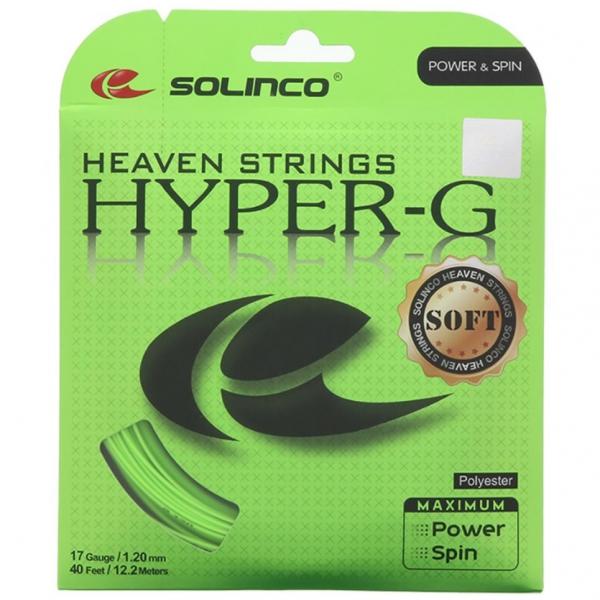 Solinco Hyper-G Soft 17g Tennis String (Set)