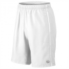 Wilson Men's Team Tennis Shorts (White/White) - Men's T-Shirts & Crew Necks