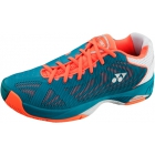 Yonex Men's Power Cushion Fusion Rev Tennis Shoes (Blue/ Orange) - Men's Tennis Shoes