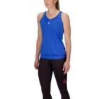 K-Swiss Women's Sideline Tennis Top (Blue) - Women's Tank Tops