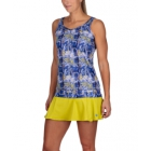 K-Swiss Women's Sideline Tennis Top (Blue Print) - Mother's Day Specials on Tennis Apparel
