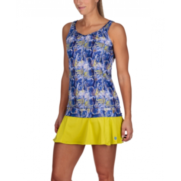 K-Swiss Women's Sideline Tennis Top (Blue Print)