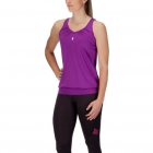 K-Swiss Women's Sideline Tennis Top (Purple) - Women's Tank Tops