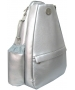Jet Silver Nickel Small Sling Convertible - Jet Small  Convertible Tennis Bags
