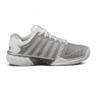 K-Swiss Women's Hypercourt Express Tennis Shoes (Silver/White) - K-Swiss Tennis Shoes