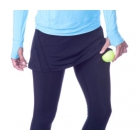 Bloq-UV Tennis Skirt with Leggings (Black) - Tennis Online Store
