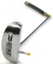 SKLZ Refiner Putter Target Line Hinged Putter (Right Hand) - Golf Skills Equipment
