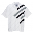 DUC Slasher Men's Tennis Polo (Black) - Tennis Apparel