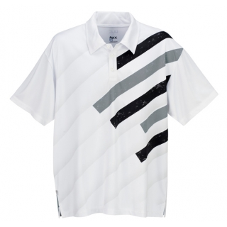 DUC Slasher Men's Tennis Polo (Black)