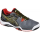 Asics Men's Gel Resolution 6 Tennis Shoes (Castlerock/Black/Gold) - Asics