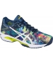 Asics Women's GEL-Solution Speed 3 Tennis Shoes (Blue/White/Rose) - Lightweight Tennis Shoes