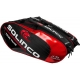 Solinco Tour 6 Pack Tennis Bag (Red/Black) - Solinco