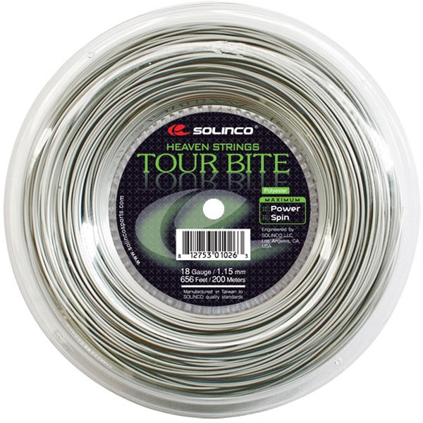 Solinco Tour Bite 16g Tennis String (Mini Reel)