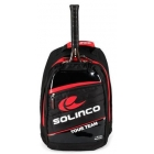 Solinco Tour Backpack (Red/Black) - Solinco Tennis Bags