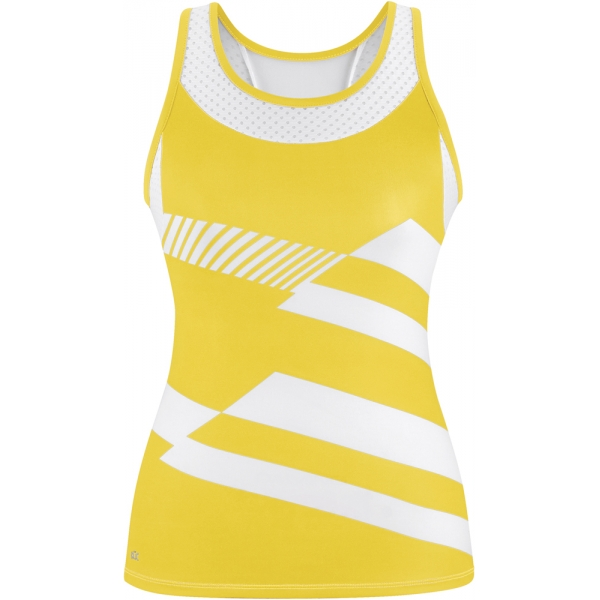 DUC Sonar Women's Printed Racer Tank (Gold)