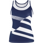 DUC Sonar Women's Printed Racer Tank (Navy) - Mother's Day Specials on Tennis Apparel