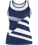 DUC Sonar Women's Printed Racer Tank (Navy) - Duc Sale Items