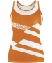 DUC Sonar Women's Printed Racer Tank (Orange) - Duc Sale Items