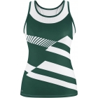 DUC Sonar Women's Printed Racer Tank (Pine)  - DUC Team Tennis Apparel
