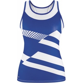 DUC Sonar Women's Printed Racer Tank (Royal)