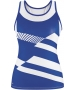 DUC Sonar Women's Printed Racer Tank (Royal) - Duc Sale Items