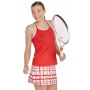 DUC Chaos Women's Power Skirt (White/ Red)