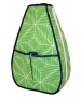 40 Love Courture Green Grid Sophi Tennis Backpack - 40 Love Courture Tennis Bags