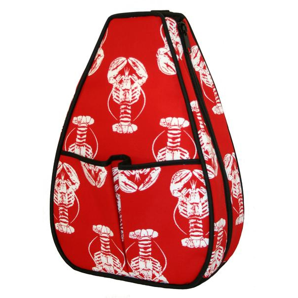 40 Love Courture Lobster Sophi Tennis Backpack