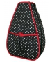 40 Love Courture Polka Dot Sophi Tennis Backpack - 40 Love Courture Tennis Bags