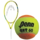 HEAD Speed Junior Tennis Racquet, Penn QST 60 Orange Tennis Balls - Junior Bundle Packs