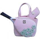 Court Couture Cassanova Tennis Bag (Spring Daisy) - Court Couture Tennis Bags