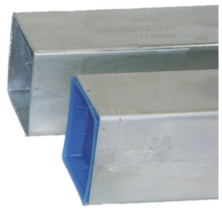 Square Galvanized Sleeves For 3'' Tennis Post
