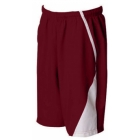 SSI Men's Page Performance Short (Burgundy) - SSI Tennis Apparel