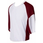 SSI Men's Garvin Performance Shirt (Burgundy) - Men's Tops T-Shirts & Crew Necks Tennis Apparel