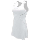 SSI Women's Sophia Racer Back Team Tennis Dress (White/White) - SSI Apparel