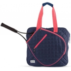 Ame & Lulu Sweet Shot Tennis Tote (Navy/Pink) - Ame & Lulu Tennis Bags for Women