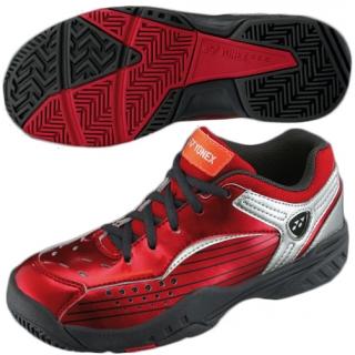 Yonex Junior SHT-308JR All Court Tennis Shoes (Metallic Red) from ...