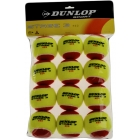 Dunlop Stage 3 Red Training Tennis Balls (12 pk) - Dunlop Tennis Equipment