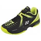 Yonex Women's Power Cushion Durable Tennis Shoes (Black/Yellow) - Yonex Tennis Shoes