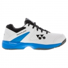 Yonex Junior Power Cushion Eclipsion 2 Tennis Shoes (White/Sky Blue) -