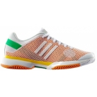 Adidas Barricade 8 by Stella McCartney Womens Tennis Shoes (Wht/ Org/ Ylw) - Shoes